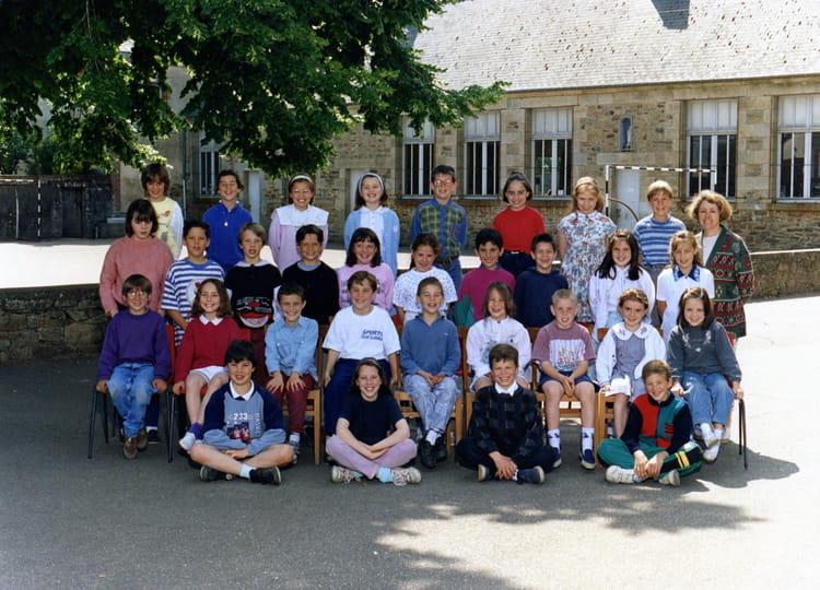 Photo de classe ce2 de 1994 ecole saint joseph bains sur for Bains s oust
