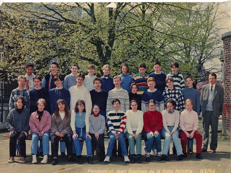 photo de classe 4 232 me de 1994 coll 232 ge jean baptiste de la salle copains d avant