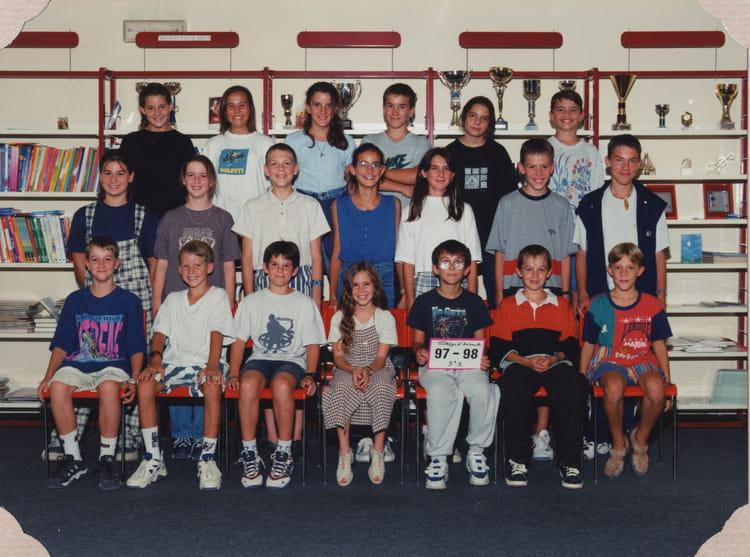 Photo de classe 5eme 1 de 1997 coll ge joseph d 39 arbaud - College joseph d arbaud salon de provence ...