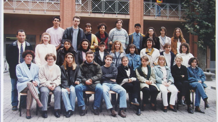 photo de classe lyc 233 e ste de nevers tlse terminale bac pro compta 93 94 de 1993 lyc 233 e