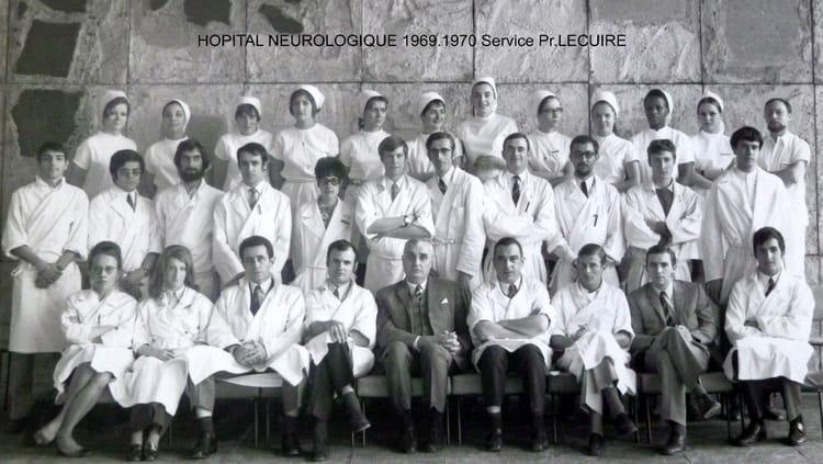 Photo de classe service pr lecuire de 1969 facult de - Hopital edouard herriot grange blanche ...