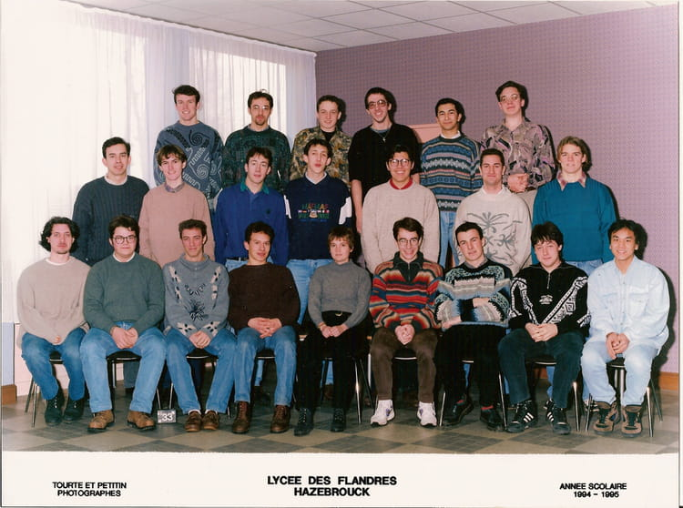 photo de classe bts mema 1 de 1994 lyc e des flandres. Black Bedroom Furniture Sets. Home Design Ideas