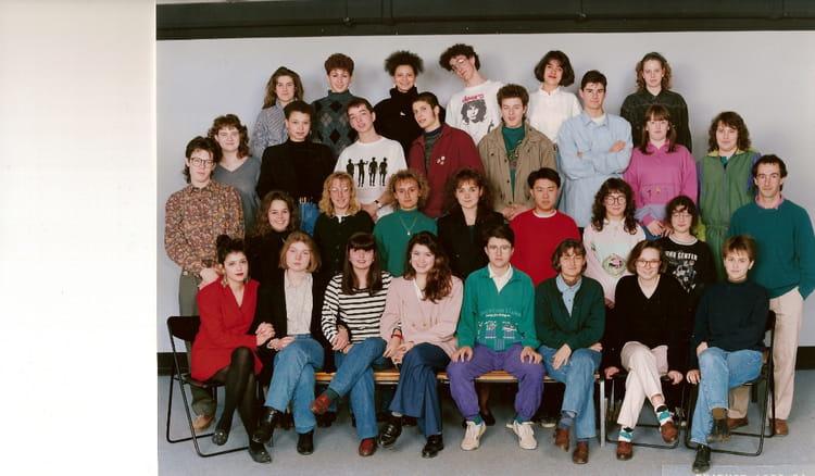 photo de classe classe de terminale de 1992 lyc e albert einstein copains d 39 avant. Black Bedroom Furniture Sets. Home Design Ideas