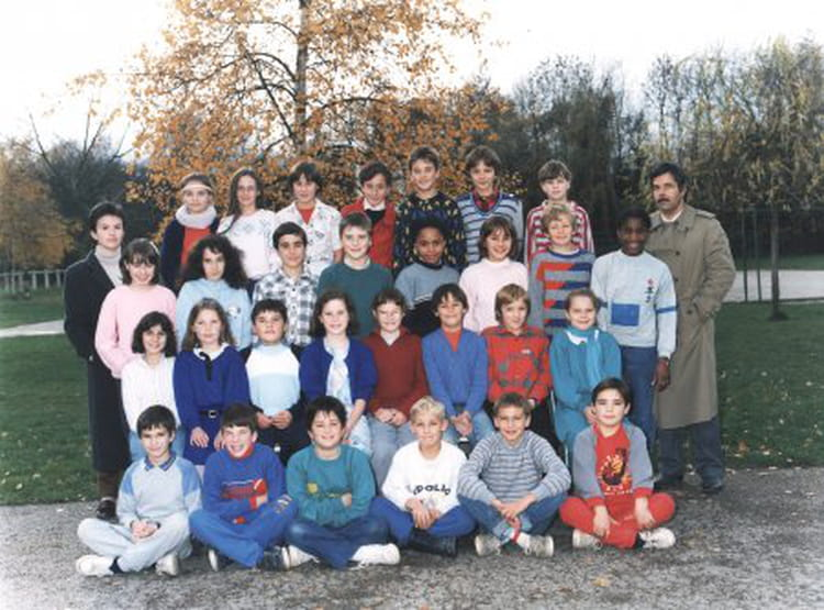 photo de classe cm2 de 1989 ecole nanteuil les meaux copains d 39 avant. Black Bedroom Furniture Sets. Home Design Ideas