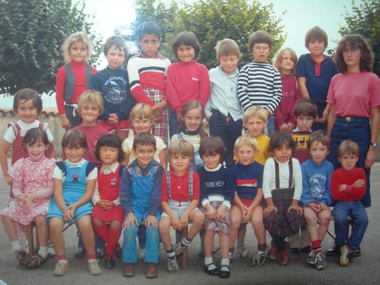 Photo De Classe Gs De 1982 Ecole Rue Bel Air Saint Just La Pendue