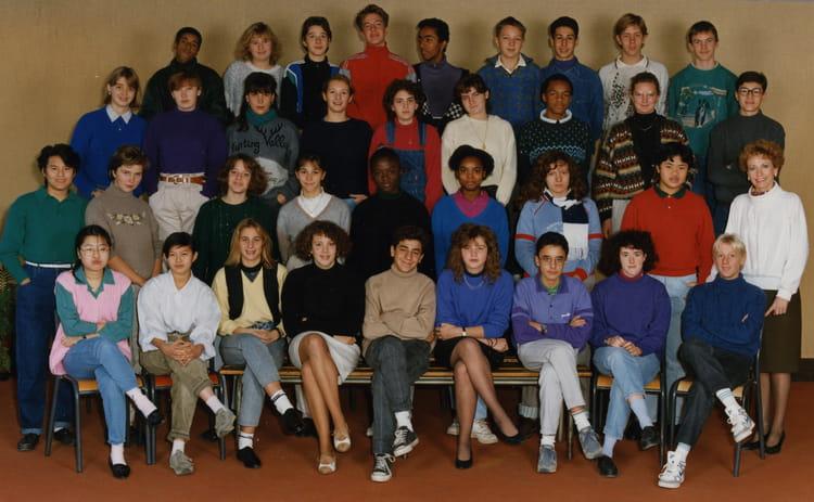photo de classe 2nde8 de 1989 lyc e albert einstein copains d 39 avant. Black Bedroom Furniture Sets. Home Design Ideas