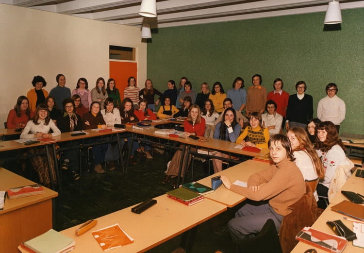 Photo de classe seconde de 1973 lyc e le grand ch nois for Domon plan b