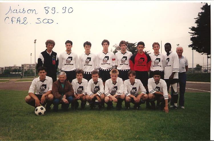 Coloriage Foot Sco Angers.Photo De Classe Stade Bertin Angers De 1989 Sco Angers Copains D