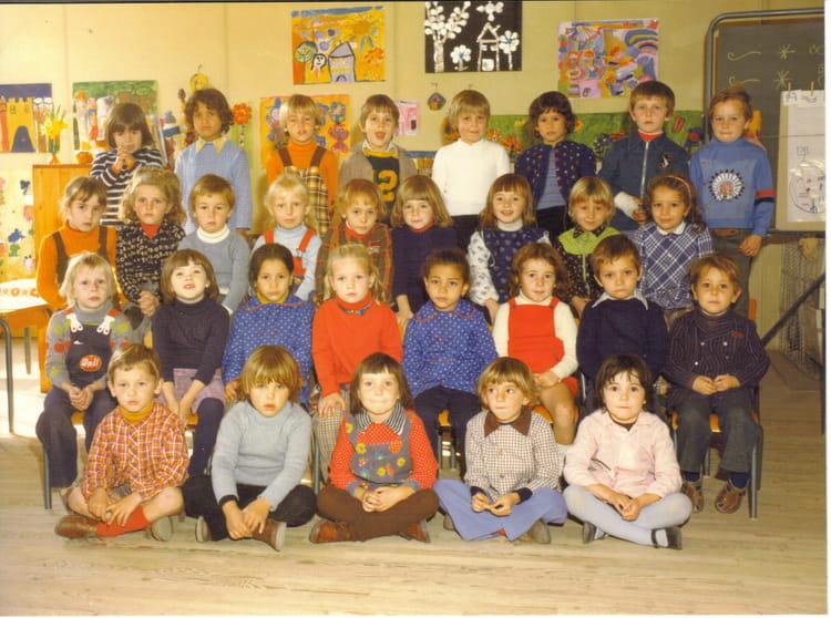 photo de classe maternelle grande sect de 1975 ecole margerie montelimar copains d 39 avant. Black Bedroom Furniture Sets. Home Design Ideas