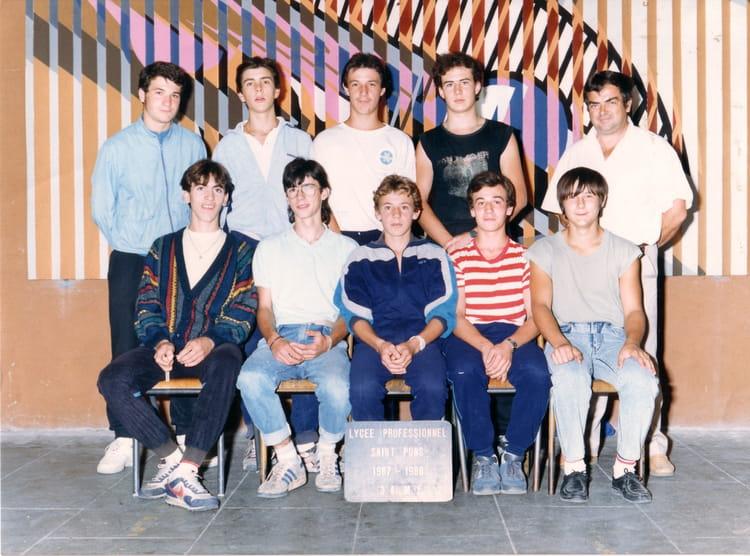 photo de classe 3 me cap mecanique generale de 1988 lyc e professionnel de saint pons copains. Black Bedroom Furniture Sets. Home Design Ideas