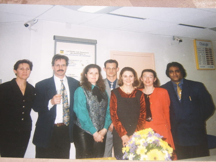 photo de classe inauguration porte orleans 14 me 1995 de. Black Bedroom Furniture Sets. Home Design Ideas