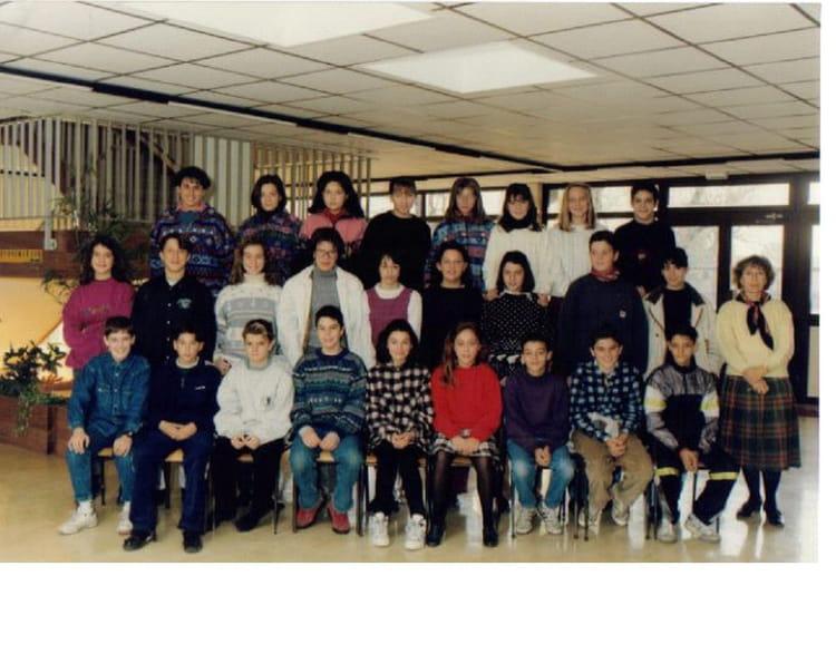 photo de classe 5 176 5 de 1993 coll 232 ge porte du m 233 doc copains d avant