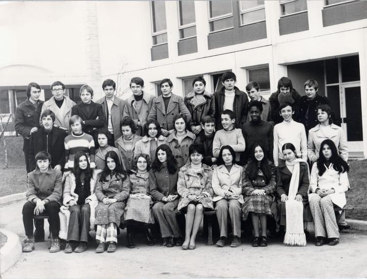 photo de classe 3 232 me m3 de 1971 lyc 233 e gaston bachelard copains d avant