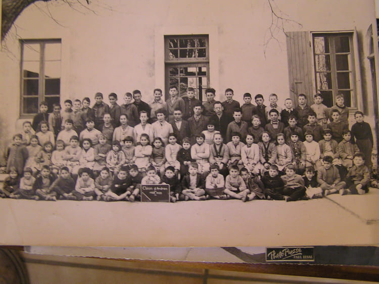 Photo de classe les classes primaires cl on de 1958 ecole olivier de serre - Ecole olivier de serres ...