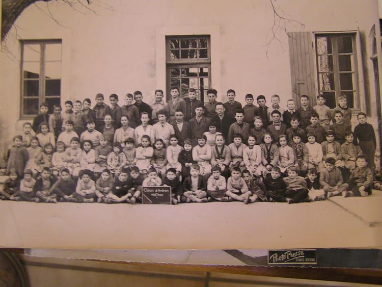 photo de classe les classes primaires cl on de 1958 ecole olivier de serres cleon d andran. Black Bedroom Furniture Sets. Home Design Ideas