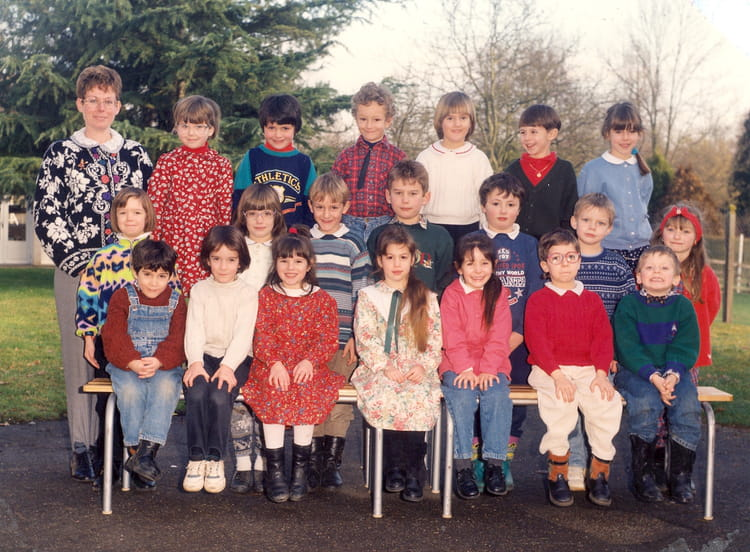 photo de classe cp de 1993 ecole du rosey fontaine sous jouy copains d 39 avant. Black Bedroom Furniture Sets. Home Design Ideas