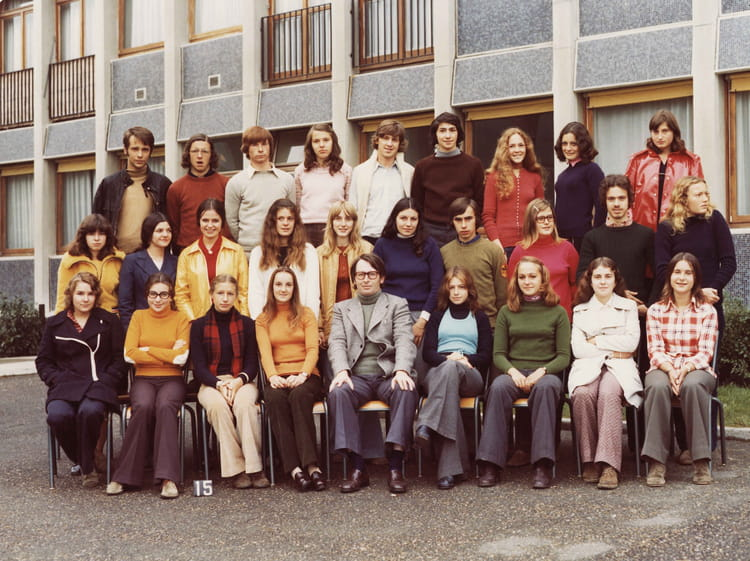 photo de classe premiere au lycee mansard de saint cyr l 39 ecole 78 de 1973 lyc e mansart. Black Bedroom Furniture Sets. Home Design Ideas