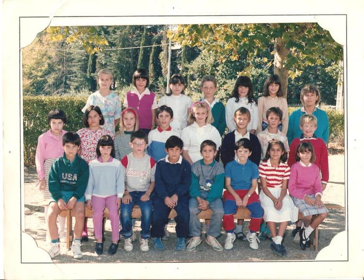 Photo de classe ecole jeanne d 39 arc de 1988 ecole jeanne d - Lycee craponne salon ...