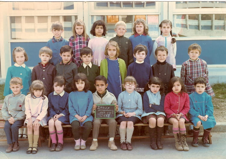 photo de classe classe de cp dreux de 1968 ecole antoine de saint exup ry copains d. Black Bedroom Furniture Sets. Home Design Ideas