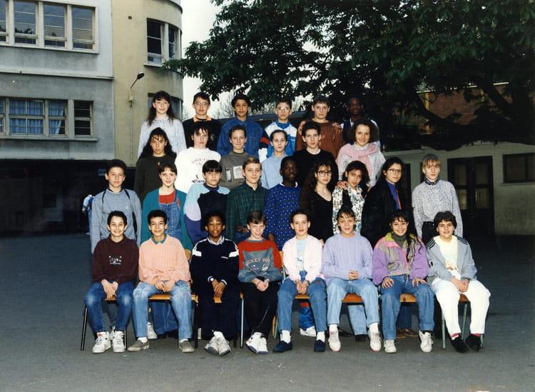 photo de classe 5 232 me de 1991 coll 232 ge jean baptiste de la salle copains d avant