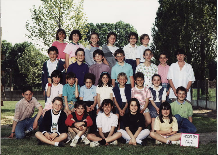 photo de classe cm2 de 1989 ecole la pierre bleue nozay copains d 39 avant. Black Bedroom Furniture Sets. Home Design Ideas