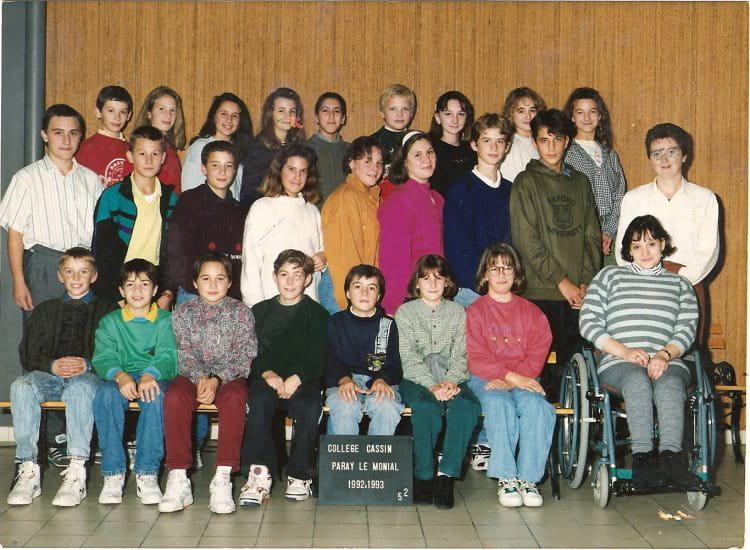 photo de classe 5eme2 de 1992 coll ge ren cassin copains d 39 avant. Black Bedroom Furniture Sets. Home Design Ideas