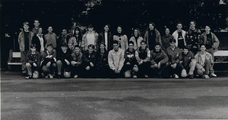 Photo de classe 3emeb de 1993 coll ge du jardin des plantes copains d 39 avant - College du jardin des plantes ...