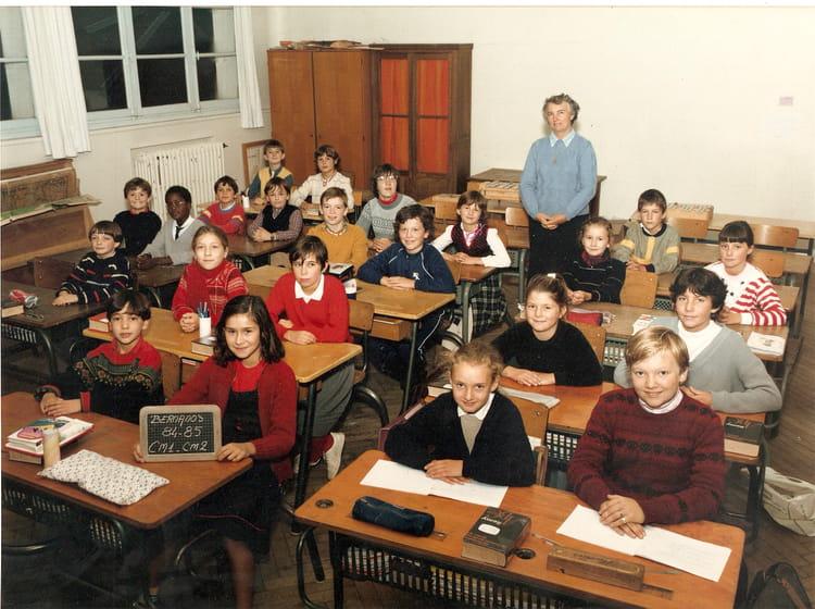 Photo de classe CM1 CM2 de 1985, Ecole Georges Bernanos (Bois Guillaume) Copains d'avant # Lycée Rey Bois Guillaume