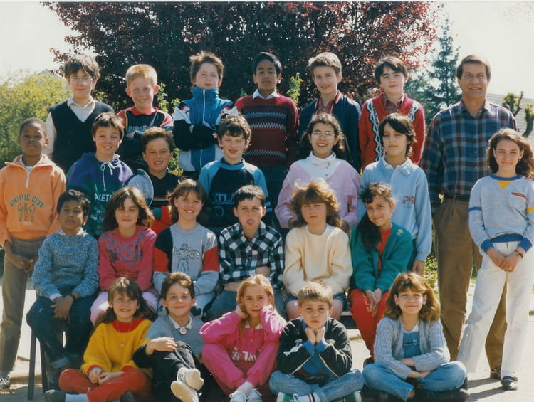photo de classe cm1 de 1987 ecole jean jaur s copains d 39 avant. Black Bedroom Furniture Sets. Home Design Ideas