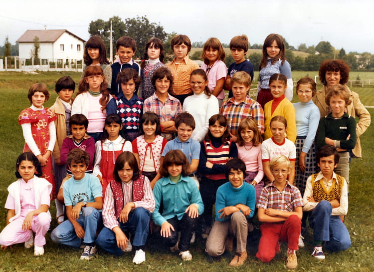 photo de classe cm2 de 1980 ecole villette d anthon copains d 39 avant. Black Bedroom Furniture Sets. Home Design Ideas