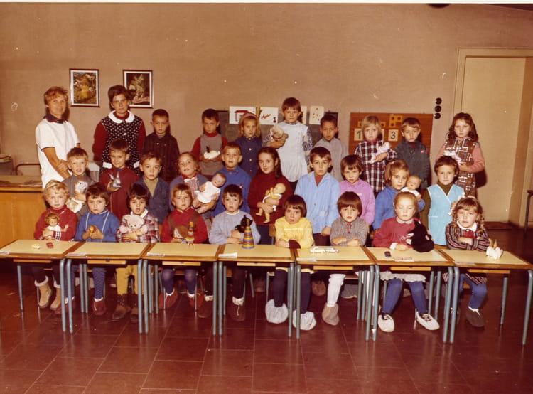 Photo de classe ecole maternelle de 1966 ecole du centre - Stiring wendel cauchemar en cuisine ...
