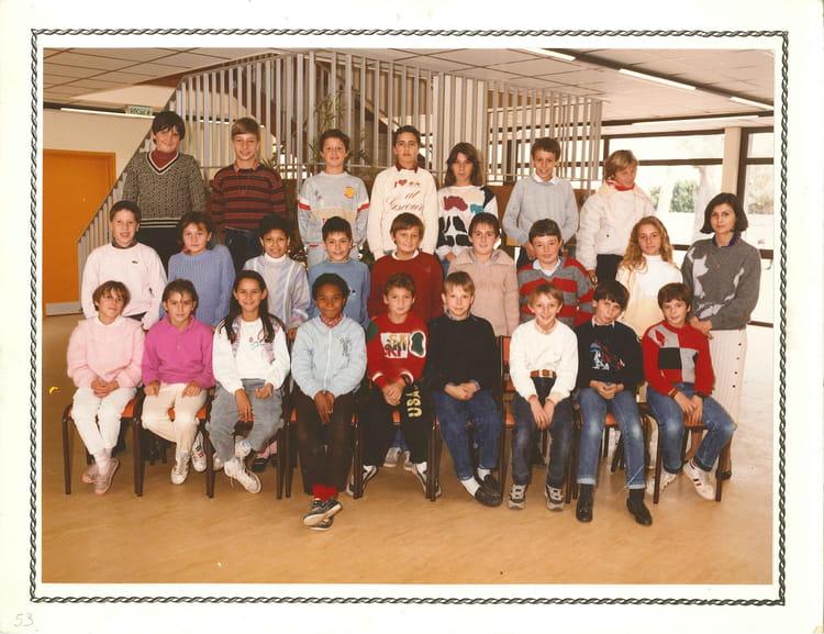 photo de classe 233 e 1985 1986 6 176 de 1986 coll 232 ge porte du m 233 doc copains d avant