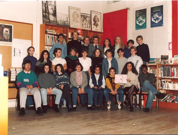 photo de classe 3eme5 franklin lille de 1990 coll ge franklin copains d 39 avant. Black Bedroom Furniture Sets. Home Design Ideas