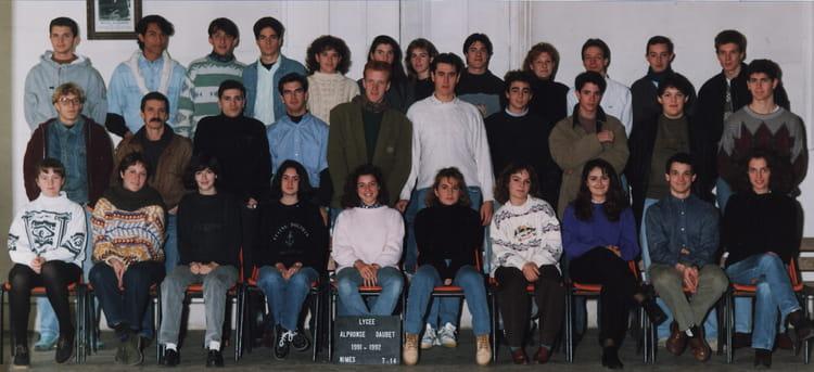 Photo de classe td14 de 1992 lyc e alphonse daudet for Lycee alphonse daudet