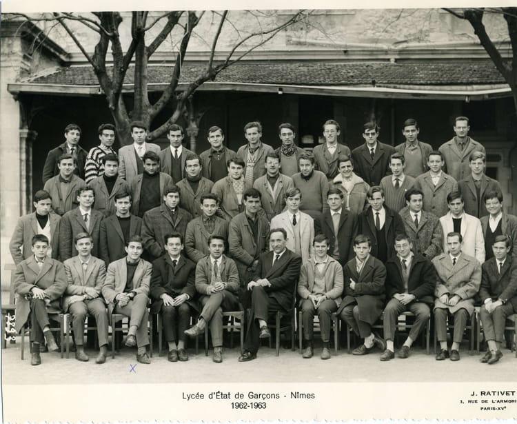 Photo de classe nimes m e 1962 63 de 1963 lyc e alphonse for Lycee alphonse daudet