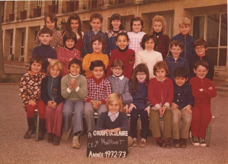 photo de classe ce 1b montfavet de 1972 ecole primaire montfavet centre copains d 39 avant. Black Bedroom Furniture Sets. Home Design Ideas