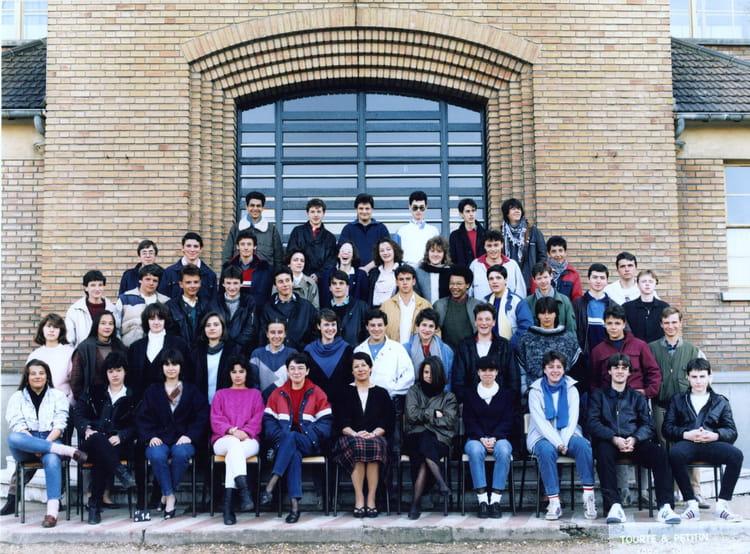 photo de classe college st gabriel a bagneux de 1984 lyc 233 e professionnel francois d