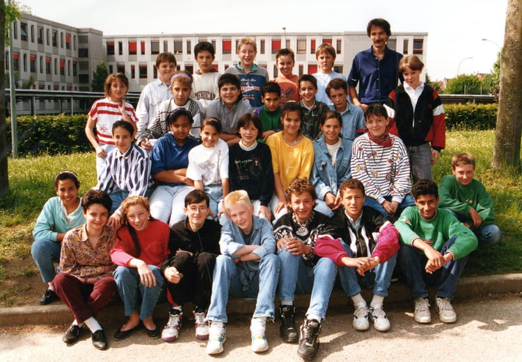 Photo de classe 5 me 3 de 1992 coll ge du bugey copains for Plan de belley