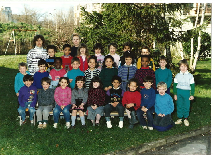 Photo de classe Ecole diderot de 1989, Ecole Denis Diderot (Sainte Genevieve Des Bois) Copains  # Auto Ecole Sainte Genevieve Des Bois