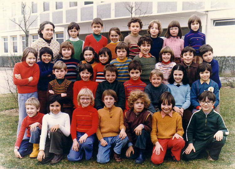 photo de classe cp de 1974 ecole pierre et marie curie. Black Bedroom Furniture Sets. Home Design Ideas