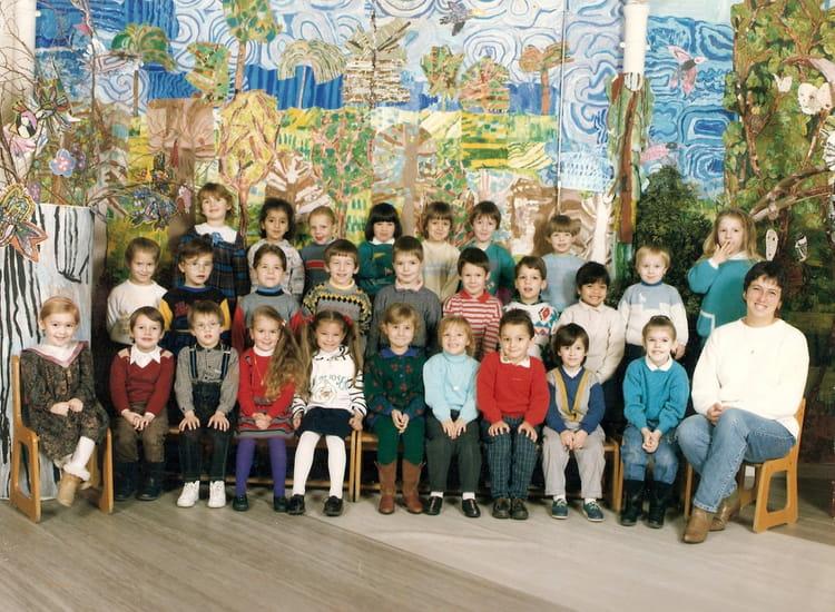 Photo de classe maternelle grande section de 1989 ecole - Cabinet radiologie saint pol sur mer ...