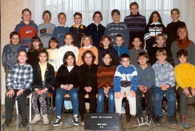 Photo de classe 6 me de 1998 coll ge du jardin des plantes copains d 39 avant - College du jardin des plantes ...