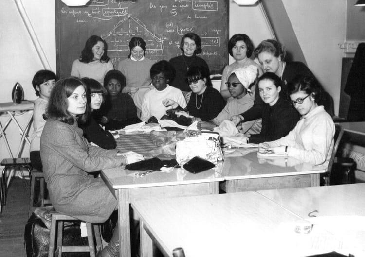 Photo de classe sans titre1 de 1968 ecole de la chambre syndicale de la couture parisienne - Ecole de la chambre syndicale ...