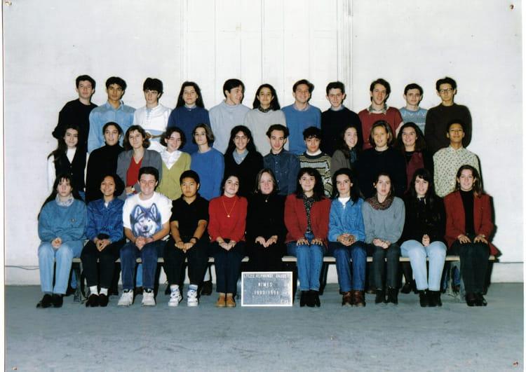 Photo de classe tale 13 1993 de 1993 lyc e alphonse for Lycee alphonse daudet