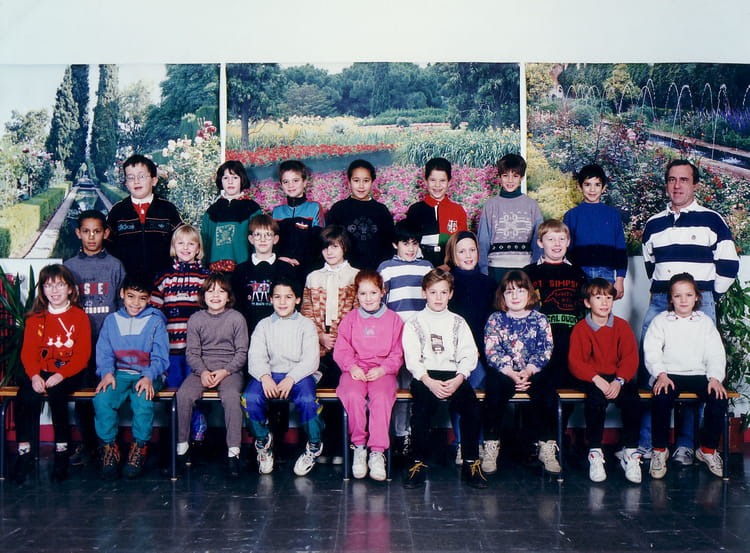 photo de classe ce2 de 1994 ecole le tricot villefranche de rouergue copains d 39 avant. Black Bedroom Furniture Sets. Home Design Ideas