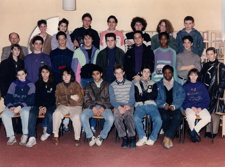photo de classe college braque 3eme 1989 1990 de 1990 coll ge georges braque copains d 39 avant. Black Bedroom Furniture Sets. Home Design Ideas