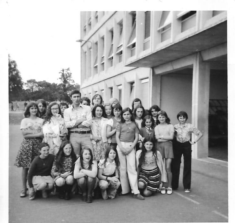 classe Collége de 1975, Collège Du Bois Dorceau  Copains davant ~ College Bois D Orceau