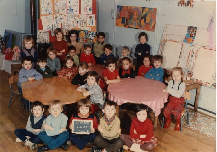 photo de classe maternelle gs zup saint memmie de 1971 ecole antoine de saint exupery. Black Bedroom Furniture Sets. Home Design Ideas