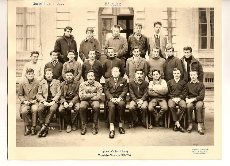 photo de classe 2 176 a bc de 1958 ecole primaire cazeres sur l adour copains d avant