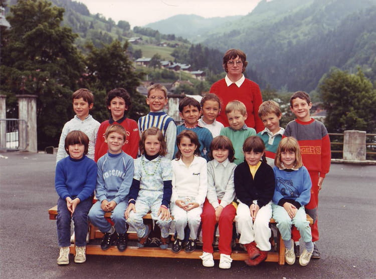 Photo de classe cp de 1986 ecole du capitaine bulle - Beaufort sur doron office du tourisme ...